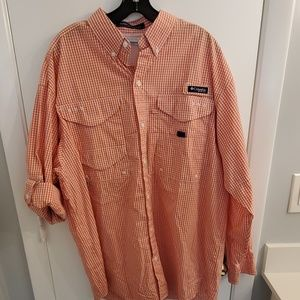 Columbia long sleeve button down